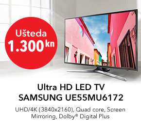 Ultra HD LED TV SAMSUNG UE55MU6172