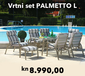 Vrtni set PALMETTO L